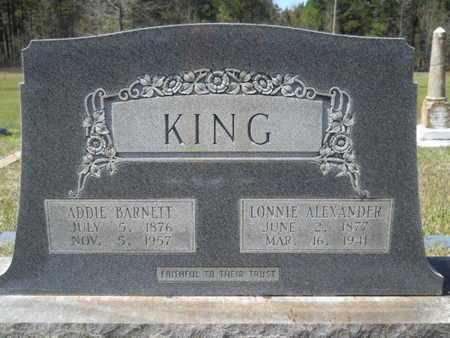 KING, ADDIE - Bossier County, Louisiana   ADDIE KING - Louisiana Gravestone Photos