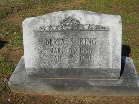 KING, BERTA S - Bossier County, Louisiana | BERTA S KING - Louisiana Gravestone Photos
