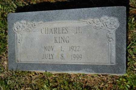 KING, CHARLES H - Bossier County, Louisiana | CHARLES H KING - Louisiana Gravestone Photos