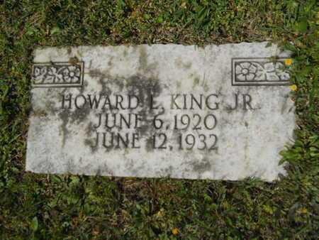 KING, HOWARD L, JR - Bossier County, Louisiana   HOWARD L, JR KING - Louisiana Gravestone Photos