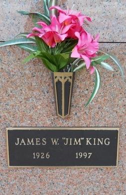 "KING, JAMES W ""JIM"" - Bossier County, Louisiana   JAMES W ""JIM"" KING - Louisiana Gravestone Photos"