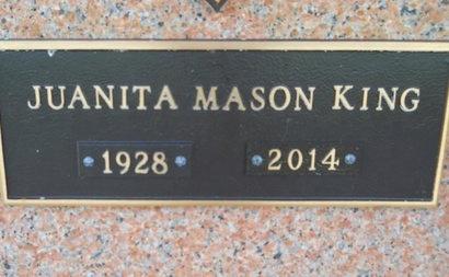 KING, JUANITA - Bossier County, Louisiana   JUANITA KING - Louisiana Gravestone Photos
