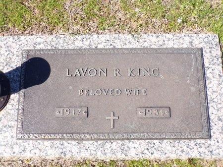 KING, LAVON R - Bossier County, Louisiana | LAVON R KING - Louisiana Gravestone Photos