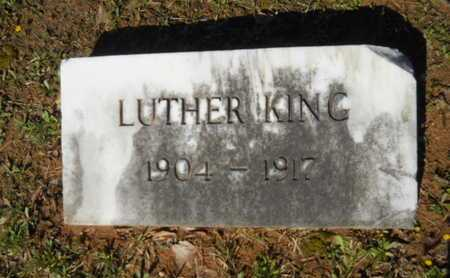 KING, LUTHER - Bossier County, Louisiana   LUTHER KING - Louisiana Gravestone Photos