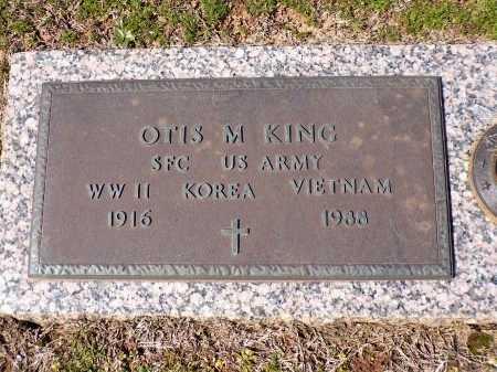 KING, OTIS M (VETERAN 3 WARS) - Bossier County, Louisiana   OTIS M (VETERAN 3 WARS) KING - Louisiana Gravestone Photos