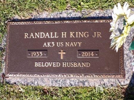 KING  , RANDALL H, JR (VETERAN) - Bossier County, Louisiana   RANDALL H, JR (VETERAN) KING   - Louisiana Gravestone Photos