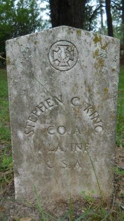 KING, STEPHEN C  (VETERAN CSA) - Bossier County, Louisiana | STEPHEN C  (VETERAN CSA) KING - Louisiana Gravestone Photos
