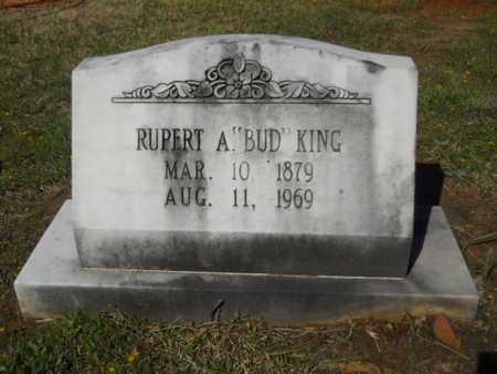 "KING, RUPERT A ""BUD"" - Bossier County, Louisiana | RUPERT A ""BUD"" KING - Louisiana Gravestone Photos"