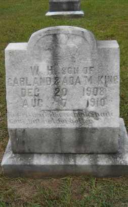 KING, W H - Bossier County, Louisiana   W H KING - Louisiana Gravestone Photos