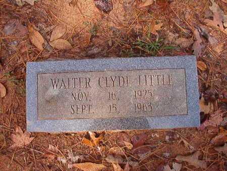 LITTLE, WALTER CLYDE - Bossier County, Louisiana | WALTER CLYDE LITTLE - Louisiana Gravestone Photos