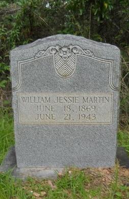 MARTIN, WILLIAM JESSIE - Bossier County, Louisiana | WILLIAM JESSIE MARTIN - Louisiana Gravestone Photos
