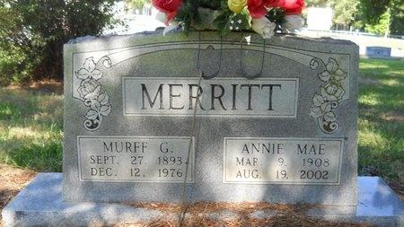 MERRITT, MURFF GORDON - Bossier County, Louisiana | MURFF GORDON MERRITT - Louisiana Gravestone Photos
