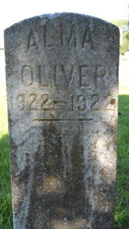 OLIVER, ALMA - Bossier County, Louisiana   ALMA OLIVER - Louisiana Gravestone Photos