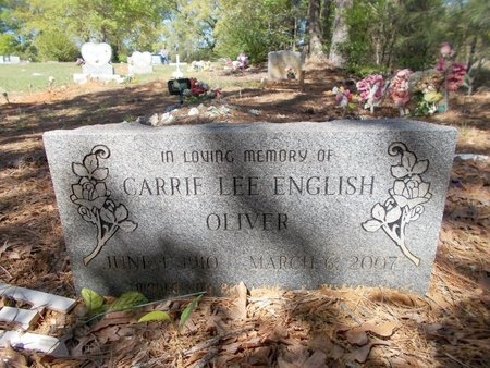OLIVER, CARRIE LEE - Bossier County, Louisiana | CARRIE LEE OLIVER - Louisiana Gravestone Photos