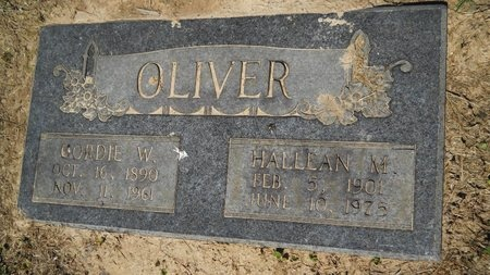 OLIVER, HALLEAN M - Bossier County, Louisiana | HALLEAN M OLIVER - Louisiana Gravestone Photos