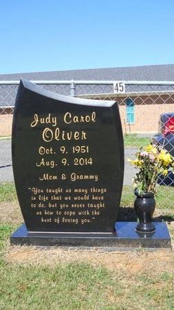 OLIVER, JUDY CAROL - Bossier County, Louisiana   JUDY CAROL OLIVER - Louisiana Gravestone Photos