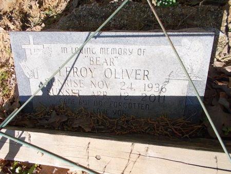 OLIVER, LEROY - Bossier County, Louisiana | LEROY OLIVER - Louisiana Gravestone Photos