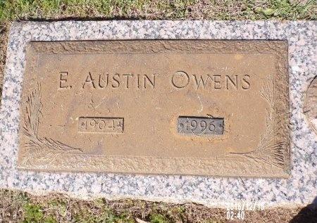 OWENS, E AUSTIN - Bossier County, Louisiana   E AUSTIN OWENS - Louisiana Gravestone Photos