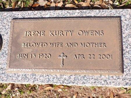OWENS, IRENE - Bossier County, Louisiana   IRENE OWENS - Louisiana Gravestone Photos