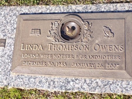 OWENS, LINDA - Bossier County, Louisiana | LINDA OWENS - Louisiana Gravestone Photos