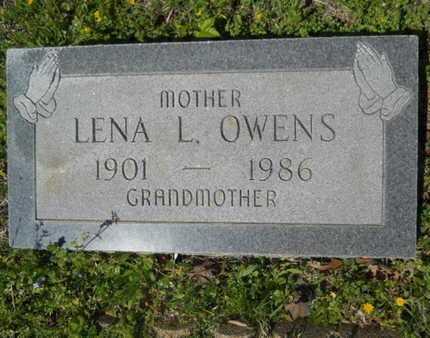 OWENS, LENA L - Bossier County, Louisiana | LENA L OWENS - Louisiana Gravestone Photos