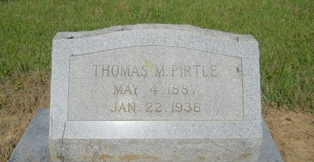 PIRTLE, THOMAS M - Bossier County, Louisiana | THOMAS M PIRTLE - Louisiana Gravestone Photos