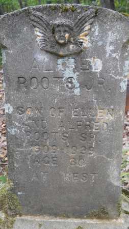 ROOTS, ALFRED, JR - Bossier County, Louisiana | ALFRED, JR ROOTS - Louisiana Gravestone Photos