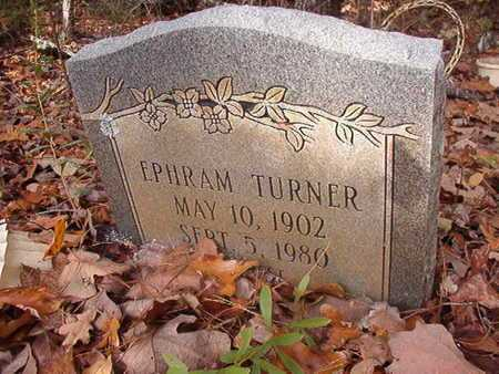 TURNER, EPHRAM - Bossier County, Louisiana | EPHRAM TURNER - Louisiana Gravestone Photos
