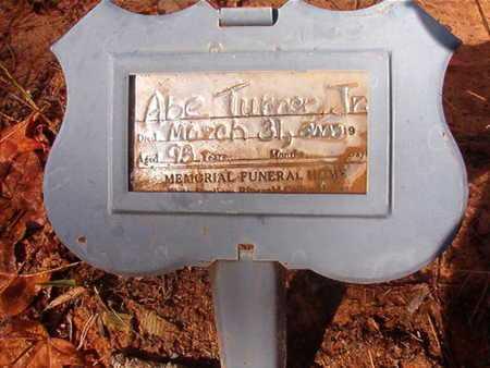 TURNER, ABE, JR - Bossier County, Louisiana | ABE, JR TURNER - Louisiana Gravestone Photos
