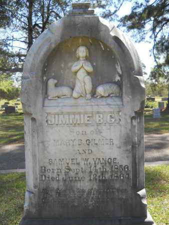 VANCE, JIMMIE B G - Bossier County, Louisiana | JIMMIE B G VANCE - Louisiana Gravestone Photos