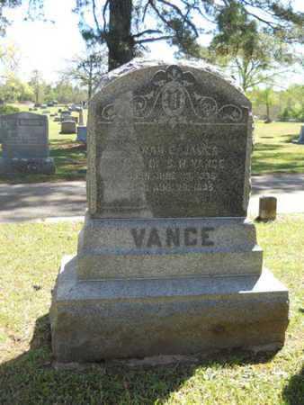 VANCE, SARAH E - Bossier County, Louisiana | SARAH E VANCE - Louisiana Gravestone Photos