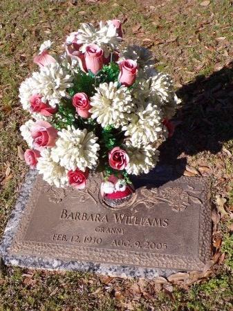 WILLIAMS, BARBARA - Bossier County, Louisiana | BARBARA WILLIAMS - Louisiana Gravestone Photos