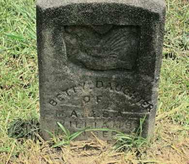 WILLIAMS, BETTY - Bossier County, Louisiana | BETTY WILLIAMS - Louisiana Gravestone Photos