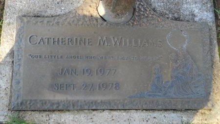 WILLIAMS, CATHERINE M - Bossier County, Louisiana   CATHERINE M WILLIAMS - Louisiana Gravestone Photos