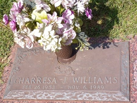 WILLIAMS, CHARRESA J - Bossier County, Louisiana | CHARRESA J WILLIAMS - Louisiana Gravestone Photos