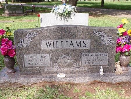 WILLIAMS, CLIFFORD ROY - Bossier County, Louisiana | CLIFFORD ROY WILLIAMS - Louisiana Gravestone Photos