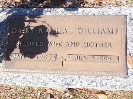 WILLIAMS, DAISY RACHAL - Bossier County, Louisiana | DAISY RACHAL WILLIAMS - Louisiana Gravestone Photos