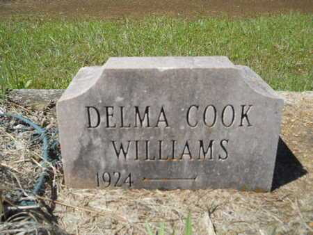 WILLIAMS, DELMA - Bossier County, Louisiana | DELMA WILLIAMS - Louisiana Gravestone Photos