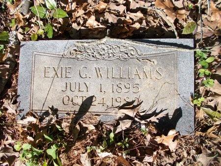 WILLIAMS, EXIE G - Bossier County, Louisiana | EXIE G WILLIAMS - Louisiana Gravestone Photos