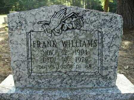 WILLIAMS, FRANK - Bossier County, Louisiana | FRANK WILLIAMS - Louisiana Gravestone Photos