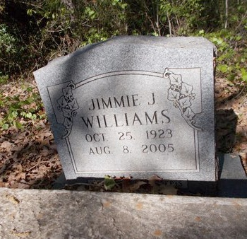 WILLIAMS, JIMMIE J - Bossier County, Louisiana | JIMMIE J WILLIAMS - Louisiana Gravestone Photos