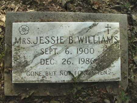 WILLIAMS, JESSIE B - Bossier County, Louisiana | JESSIE B WILLIAMS - Louisiana Gravestone Photos