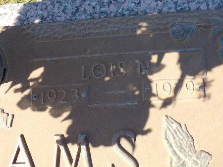 WILLIAMS, LOIS MERLE (CLOSE UP) - Bossier County, Louisiana   LOIS MERLE (CLOSE UP) WILLIAMS - Louisiana Gravestone Photos