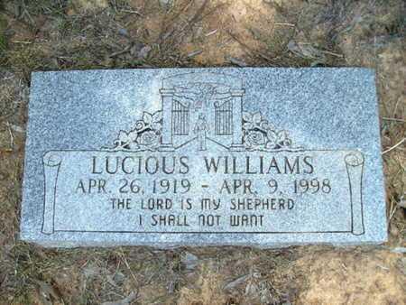 WILLIAMS, LUCIOUS - Bossier County, Louisiana | LUCIOUS WILLIAMS - Louisiana Gravestone Photos