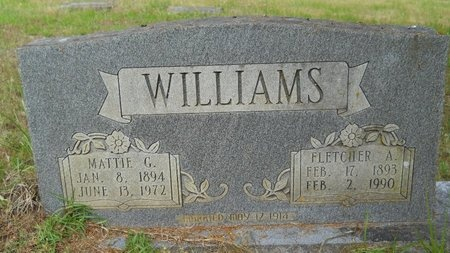 WILLIAMS, FLETCHER ANCEL - Bossier County, Louisiana | FLETCHER ANCEL WILLIAMS - Louisiana Gravestone Photos