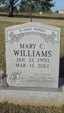 WILLIAMS, MARY C - Bossier County, Louisiana | MARY C WILLIAMS - Louisiana Gravestone Photos