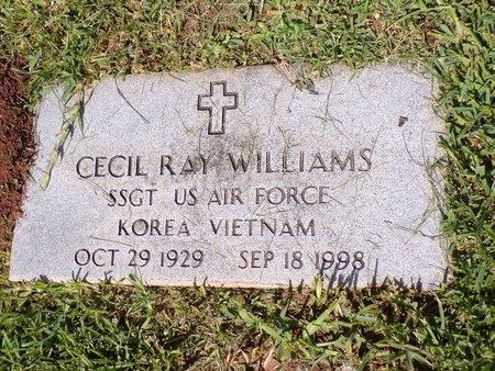 WILLIAMS, CECIL RAY (VETERAN 2 WARS) - Bossier County, Louisiana | CECIL RAY (VETERAN 2 WARS) WILLIAMS - Louisiana Gravestone Photos