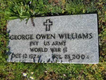 WILLIAMS, GEORGE OWEN (VETERAN WWII) - Bossier County, Louisiana | GEORGE OWEN (VETERAN WWII) WILLIAMS - Louisiana Gravestone Photos