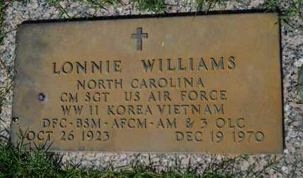 WILLIAMS, LONNIE (VETERAN 3 WARS) - Bossier County, Louisiana | LONNIE (VETERAN 3 WARS) WILLIAMS - Louisiana Gravestone Photos