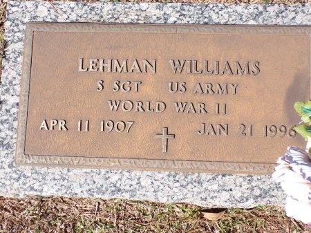 WILLIAMS, LEHMAN (VETERAN WWII) - Bossier County, Louisiana | LEHMAN (VETERAN WWII) WILLIAMS - Louisiana Gravestone Photos